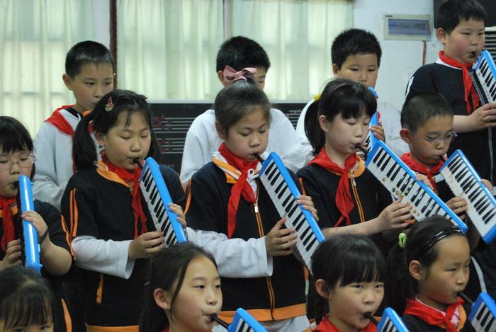 9年5月12日三年级口风琴比赛31