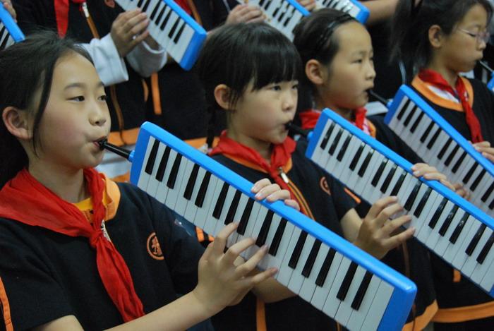 9年5月12日三年级口风琴比赛28