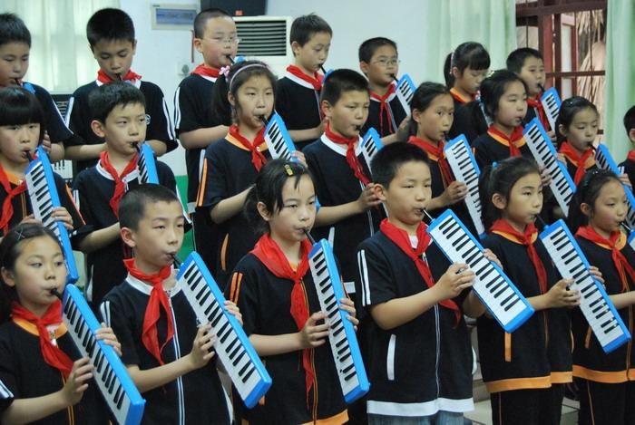 9年5月12日三年级口风琴比赛23