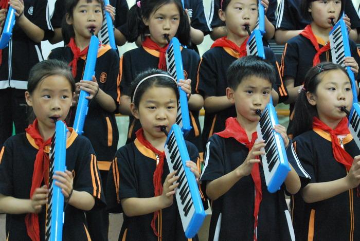 9年5月12日三年级口风琴比赛22