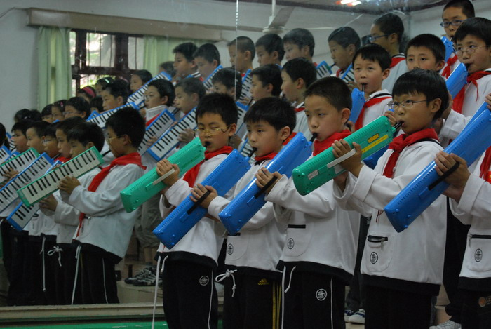 9年5月12日三年级口风琴比赛16