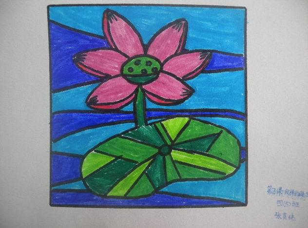 四年级上册美术图画图片大全 请欣赏 龙洲四年级同学的美术图片