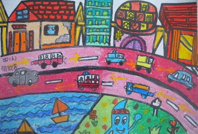 四年级下册美术作品图片大全 四年级美术作品 学生作品 图片图片